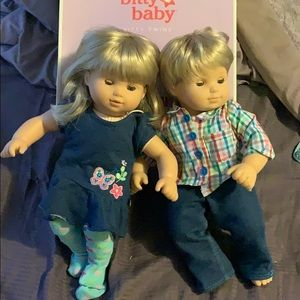 American Girl - bitty baby twins
